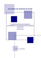 n°114 - janvier 2019 - L'université aux risques de l'économie de la connaissance, ou quelles finalités pour l'université aujourd'hui ?