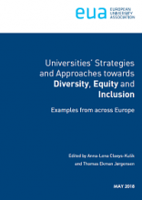Universities' strategies and approaches towards diversity, equity and inclusion: examples from accross Europe
