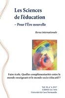 Faire école. Quelles complémentarités entre le monde enseignant et le monde socio-éducatif ?
