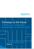 """Pathways to the future : a follow-up to """"Universities without walls – A vision for 2030"""""""