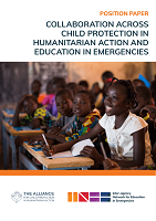 Collaboration across child protection in humanitarian action and education in emergencies