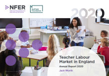 Teacher labour market in England: annual report 2020