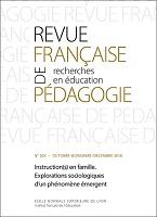 Instruction(s) en famille : explorations sociolinguistiques d'un phénomène émergent : dossier