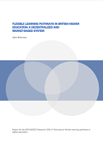 Flexible learning pathways in British higher education: a decentralized and market-based system