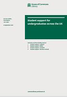Student support for undergraduates across the UK