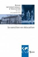 La sanction en éducation : dossier