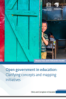 Open government in education: clarifying concepts and mapping initiatives