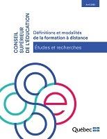 Définitions et modalités de la formation à distance