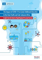 The Impact of COVID-19 on early childhood education in the Asia-Pacific and Sub-Saharan Africa: insights from the results of rapid regional personnel survey