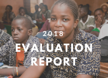 2018 Evaluation report: review of the learning assessments evaluation framework