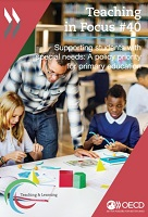 n° 40 - mai 2021 - Supporting students with special needs: a policy priority for primary education
