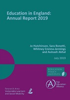 Education in England: annual report 2019