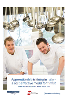 Apprenticeship training in Italy - a cost-effective model for firms?