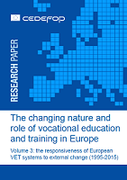 The changing nature and role of vocational education and training in Europe: volume 3: the responsiveness of European VET systems to external change (1995-2015)