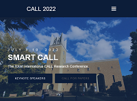 XXIst International CALL research conference: smart CALL