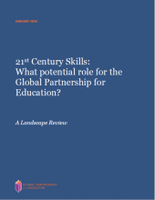 21st century skills: what potential role for the global partnership for education? A landscape review