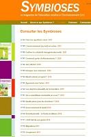 Symbioses : le magazine de l'éducation relative à l'environnement
