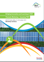 Bridging innovation and learning in TVET : thematic workshop : greening TVET