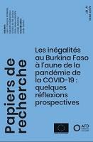 Les inégalités au Burkina Faso à l'aune de la pandémie de la covid-19 : quelques réflexions prospectives