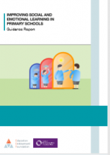 Improving social and emotional learning in primary schools : guidance report