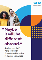 """Maybe it will be different abroad."": student and staff perspectives on diversity and inclusion in student exchanges"