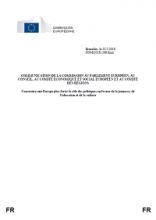 Communication de la Commission au Parlement européen, au Conseil, au Comité économique et social européen et au Comité des régions : Construire une Europe plus forte : le rôle des politiques en faveur de la jeunesse, de l'éducation et de la culture