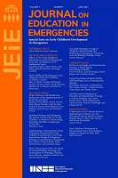 vol. 7, n° 1 - juin 2021 - Special issue on early childhood development in emergencies