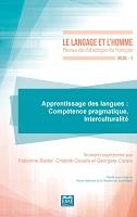 n° 1 - 30/06/2020 - Apprentissage des langues : compétence pragmatique, interculturalité