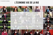 L'économie vue de la rue (vidéos)