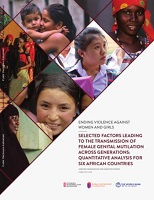 Ending violence against women and girls : selected factors leading to the transmission of female genital mutilation across generations - quantitative analysis for six African countries