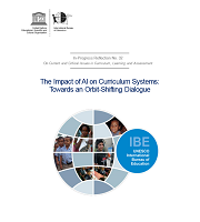 The impact of artificial intelligence (AI) on curriculum systems: towards an orbit-shifting dialogue