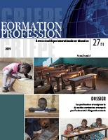 La profession enseignante dans des contextes marqués par l'adversité : regards croisés