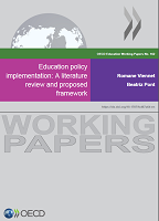 Education policy implementation: a literature review and proposed framework