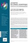 n° 6 - décembre 2017 - La formation des enseignants dans la tourmente, 2010-2017