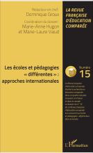 """n° 15 - mai 2017 - Les écoles et pédagogies """"différentes"""" : approches internationales"""