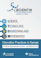 Science, technology, engineering and mathematics education practices in Europe: Scientix Observatory report