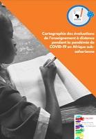 Cartographie des évaluations de l'enseignement à distance pendant la pandémie de COVID-19 en Afrique subsaharienne