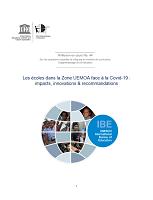 Les écoles dans la zone UEMOA face à la Covid-19 : impacts, innovations et recommandations