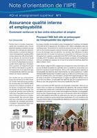 Assurance qualité interne et employabilité : comment renforcer le lien entre éducation et emploi