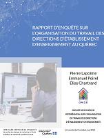 Rapport d'enquête sur l'organisation du travail des directions d'établissement d'enseignement du Québec