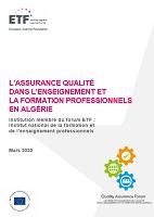 L'assurance qualité dans l'enseignement et la formation professionnels en Algérie