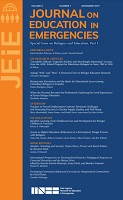 vol. 5, n° 1 - Special issue on refugees and education, part I