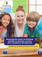 Measuring the impact of eTwinning activities on teachers' practice and competence development: monitoring eTwinning practice framework