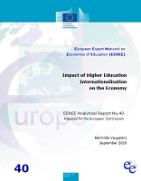 Impact of higher education internationalisation on the economy
