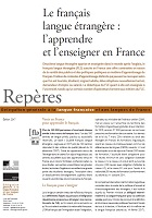 Repères 2017 : le français langue étrangère, l'apprendre et l'enseigner en France