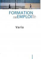 La formation professionnelle en Suisse : des limites révélées par les résiliations de contrat d'apprentissage