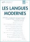 n° 3 - septembre 2020 - L'enseignement de la prononciation en classe de langue : démarches et outils. 1. Plurisensorialité et multimodalité