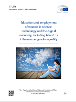 Education and employment of women in science, technology and the digital economy, including AI and its influence on gender equality