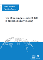 Use of learning assessment data in education policy-making