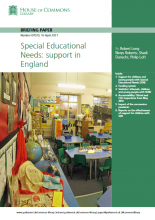 Special educational needs: support in England